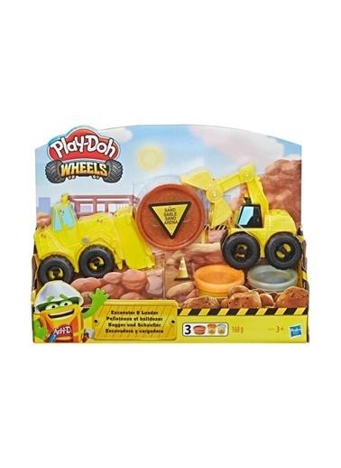 Play-Doh Play-Doh Çalışkan Buldozer ve Kepçe Renkli